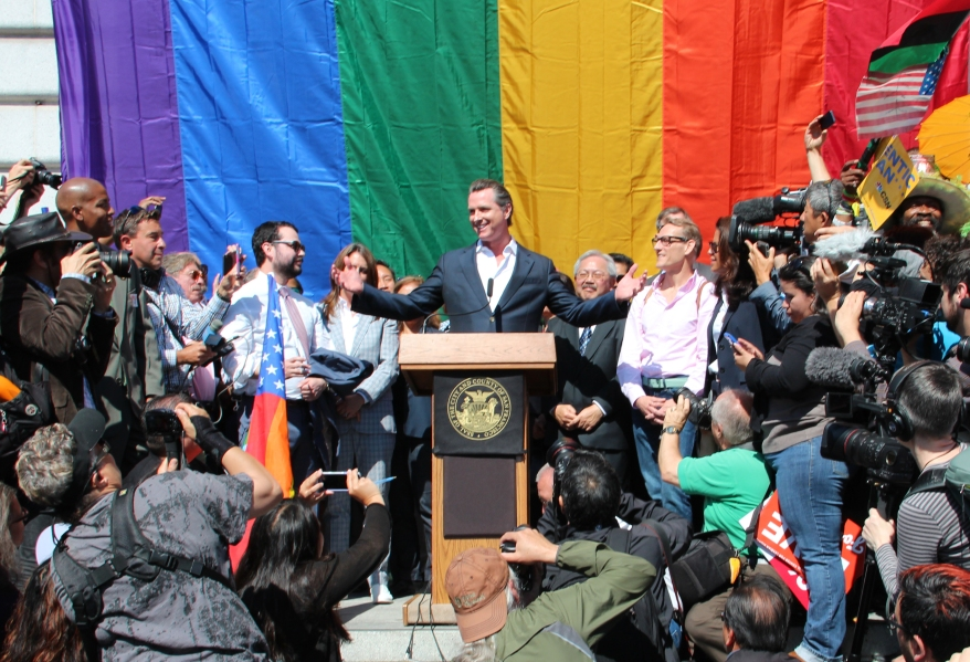 Gavin Newsom, Supreme Court, Same-sex marriage