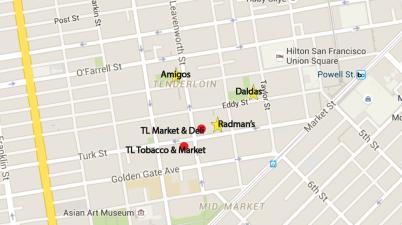 Good and bad Tenderloin corner stores
