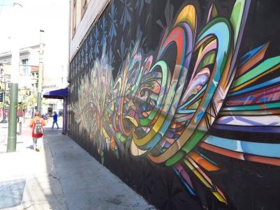 Turk and Taylor art installation