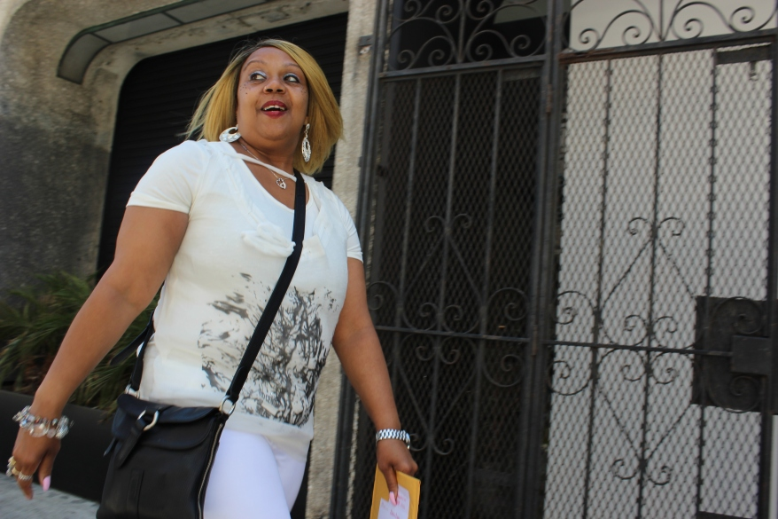 Yolanda Morrissette, once an addict on the street, is an active member of Glide's women's group. (Photo by Tony Taylor)