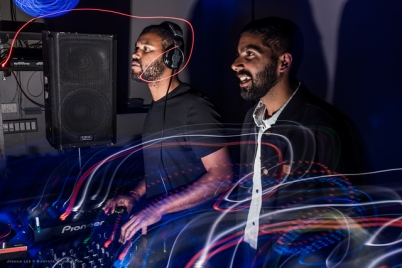 Make it Funky DJs Michael Fortune and Mohit Kohli, who live in SF's Inner Richmond.