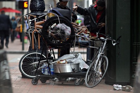 SFPD's Media Relations unit runs the Twitter handle @SFPDBikeTheft where they post and receive tweets on stolen bikes. It serves as a place to log stolen bikes and place to post photos of crimes in progress. Residents are tweeting about bike theft on a daily basis.