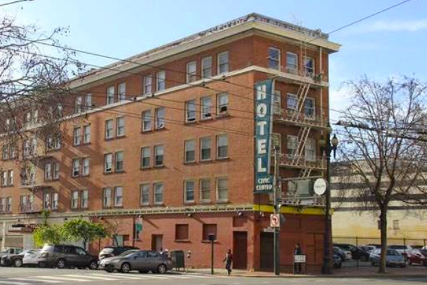 A Mid-Market development plan could result in the loss of two historic buildings (photo via draft Environmental Impact Report)